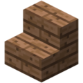 Minecraft jungle stairs.png