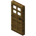 Minecraft wooden door.png