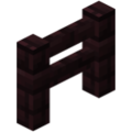 Minecraft nether brick fence.png