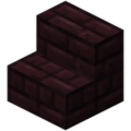 Minecraft nether brick stairs.png